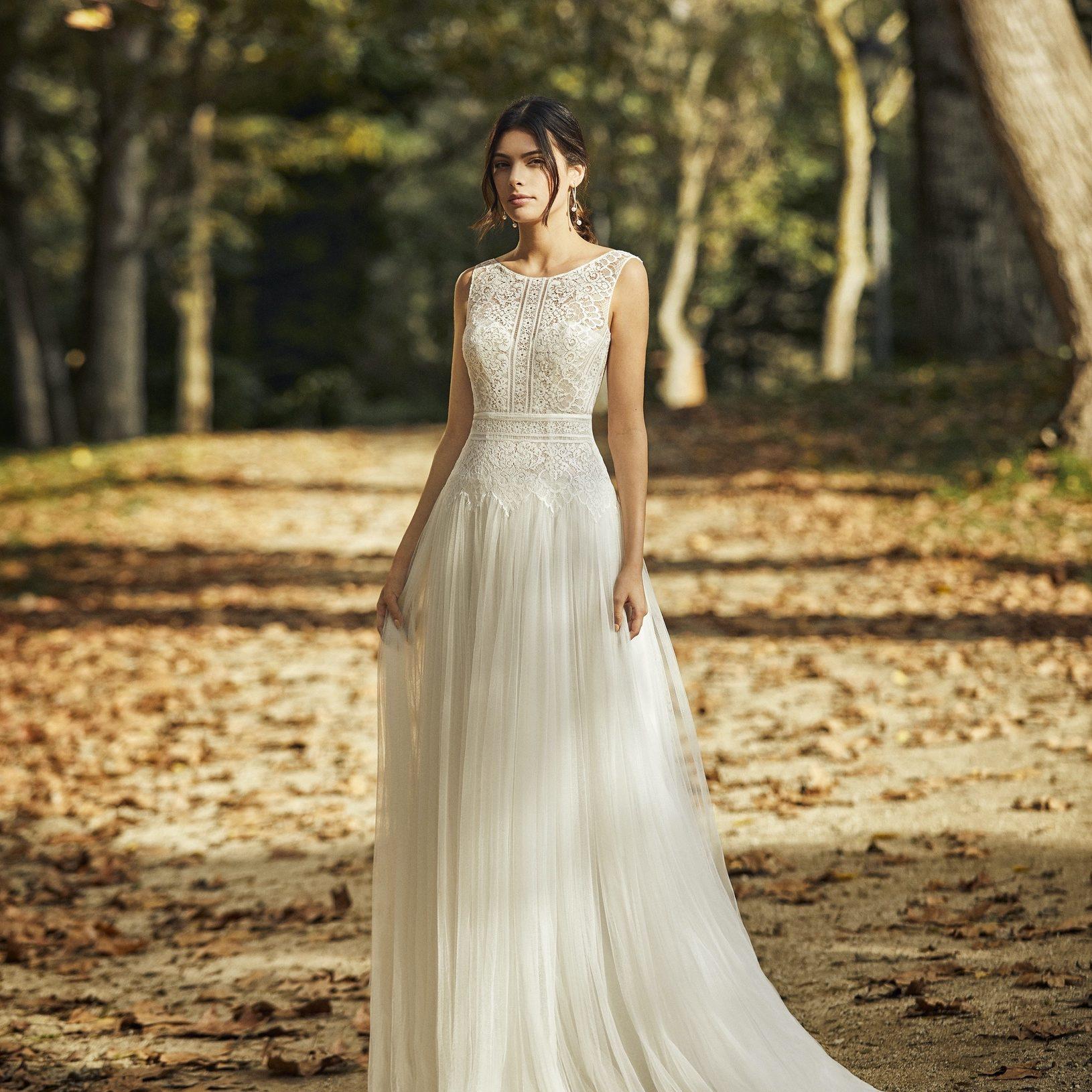 Bridal gown by Alma Novia at Perfect Day Bridal