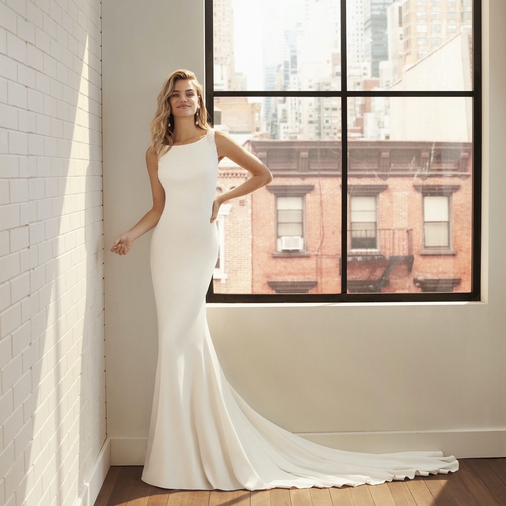 Bridal gown by Luna Novias at Perfect Day Bridal