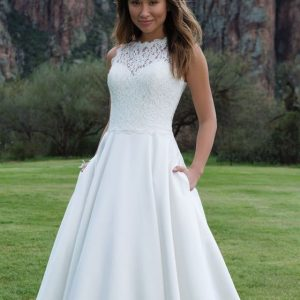 Wedding dress by Sweetheart Gowns from the Justin Alexander group at Perfect Day Bridal