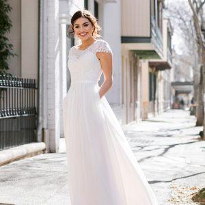 Wedding dress by Fox Bridal at Perfect Day Bridal