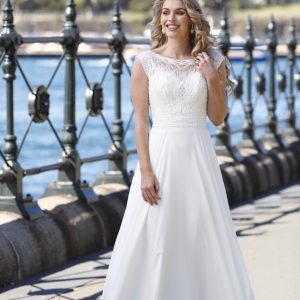 Wedding dress by Fox Bridal at Perfect Day Bridal