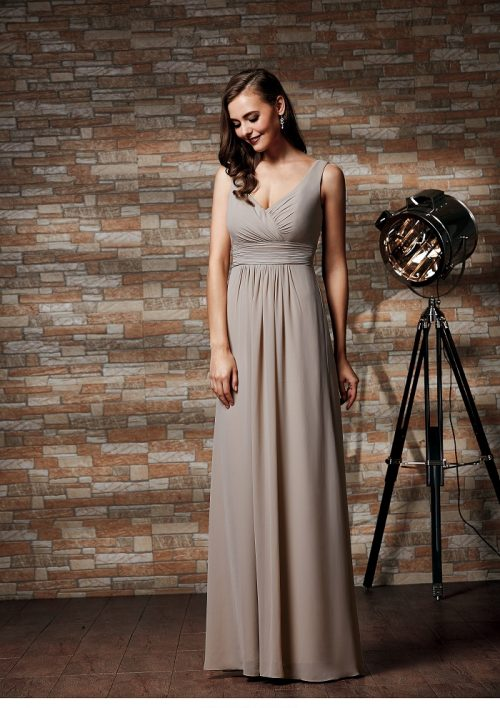Moir bridesmaid by International Couture at Perfect Day Bridal.